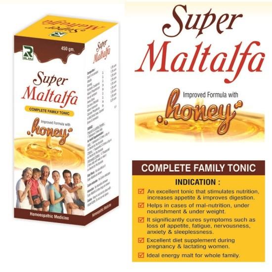 Dr.Raj Super Maltalfa Complete Family Tonic with Honey