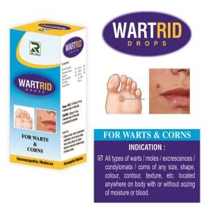 Dr.Raj Wartrid Drops Homeopathy for Warts and Corns
