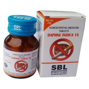 SBL Daphne Indica 1X Tablets For Tobacco De-addiction
