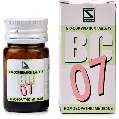 Schwabe Biocombination Tablets BC07 for Diabetes