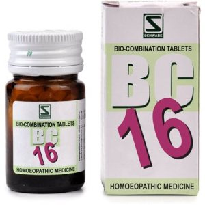 Schwabe Biocombination Tablets BC16 for Nervous Exhaustion