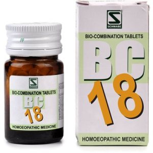 Schwabe Biocombination Tablets BC18 for Pyorrhea, Gum boil, toothache, sensitive gums, mouth odor