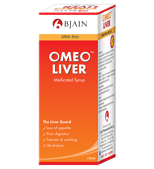 Omeo Liver Syrup for Appetite Loss, Poor Digestion. Homeopathy Med