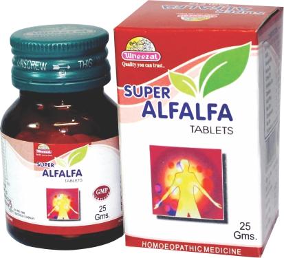 Wheezal Super Alfalfa Tablets