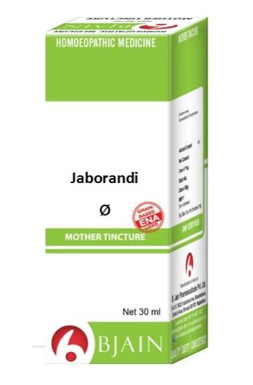 Bjain Jaborandi Q Homeopathic Mother Tincture