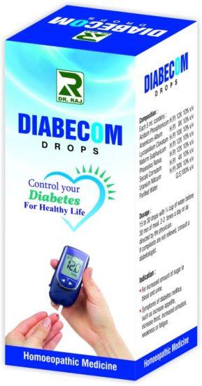 Dr Raj Diabecom Drops - Control Diabetes