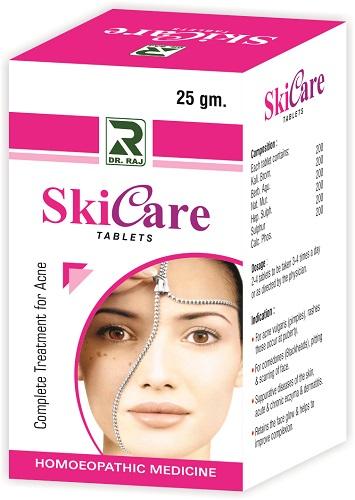Dr Raj Skicare Tablets, Skin Care Treatment for Acne, Blackheads
