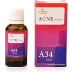 Allen A34 Drops, Homeopathic Acne Medicine