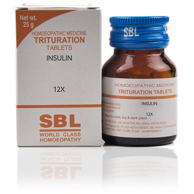 Insulin 12X Tablet is useful in the treatment of symptoms of diabetes.