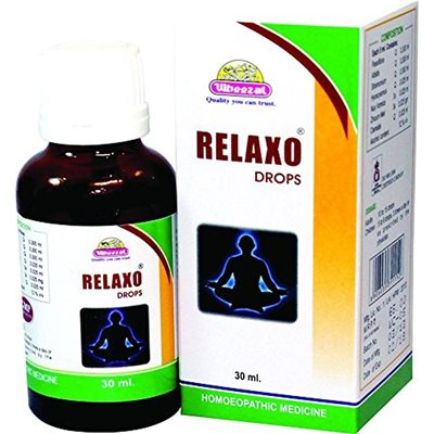 Wheezal Relaxo Drops for Insomnia, Anxiety, Jetlag