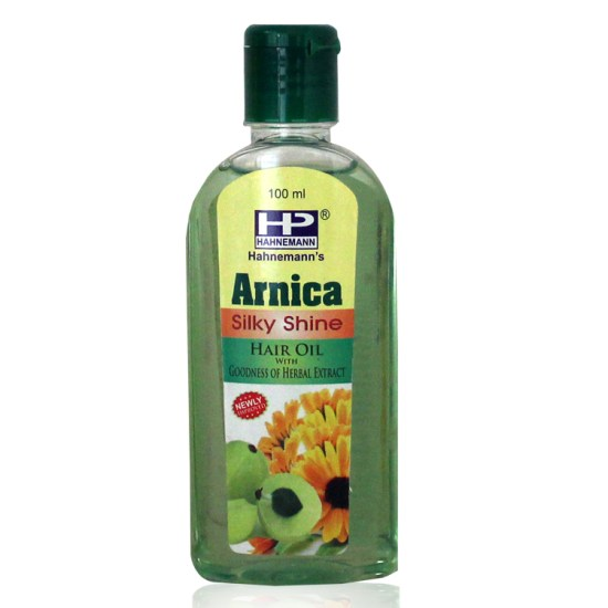 Hahnemann Pharma Arnica Hair Oil Silky Shine