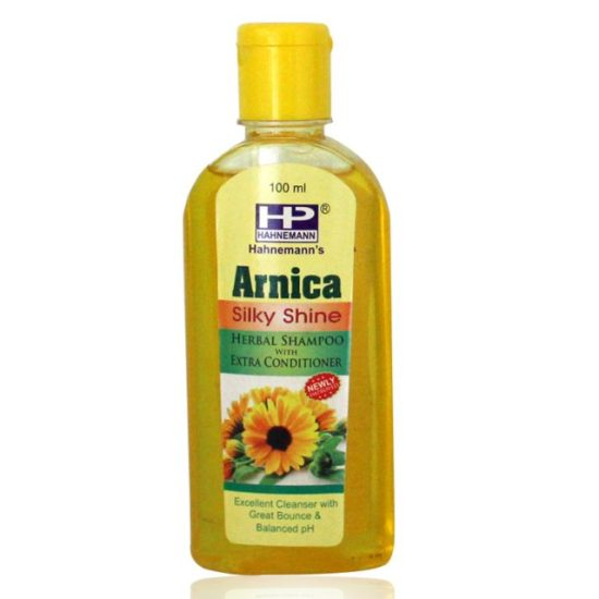 Hahnemann Pharma Arnica Herbal Shampoo with Conditioner for silky shine hair