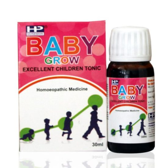 Hahnemann Pharma Baby Grow Children Tonic, baby growth promoter for charts