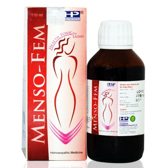 Hahnemann Pharma Menso Syrup Women Health Tonic
