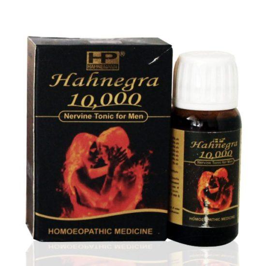 Hahnemann Pharma Hahnegra Nervine Tonic for Men, Homeopathic viagra medicine for sex power, libido, vitality