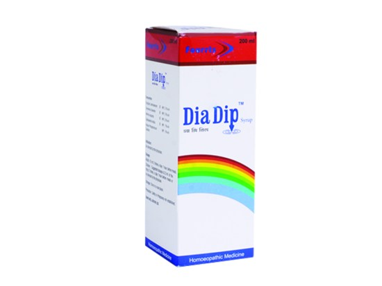 Fourrts Dia Dip Syrup for Diabetes, homeopathy for sugar control with Syzygium Jambolanum