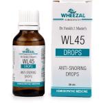 Wheezal WL45 Homeopathy Anti Snoring Drops