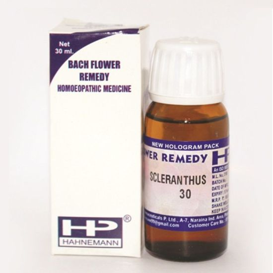Buy Bach Flower Remedy Scleranthus for Indecision, uncertainty, dizziness.