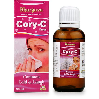Bhargava Cory C Drops for Common Cold and Cough