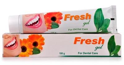 Bhargava Fresh Gel Toothpaste for Dental Care