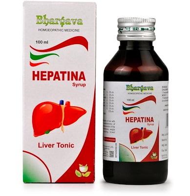 Bhargava Hepatina Syrup - Liver Tonic