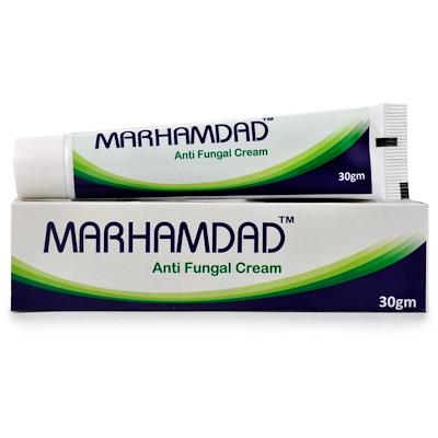 Bhargava Marhamdad Anti Fungal Cream, homeopathy skin cream for skin fungus infection