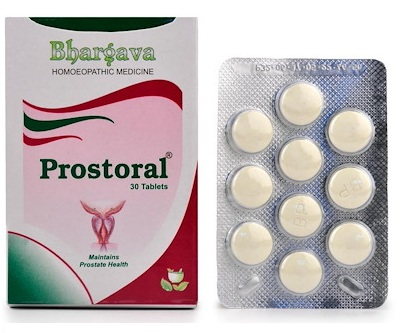 Bhargava Prostoral Tablets for Prostate Health
