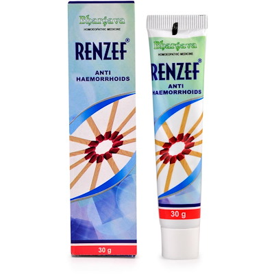 Bhargava Renzef Cream - Anti Haemorrhoids