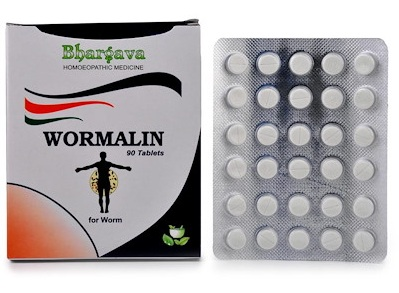 Bhargava Wormalin Tablets for all types of Worm