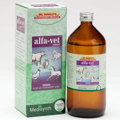 Medisynth Alfa Vet Forte Tonic for Veterinary Use