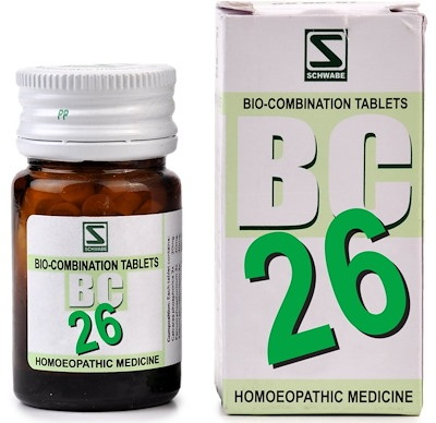 Schwabe Biocombination BC26 Tablets for Easy Parturition (Labour Pain)