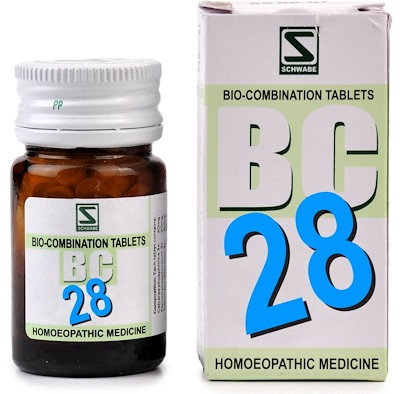 Schwabe Biocombination BC28 Tablets, General Tonic for Health and Wellness