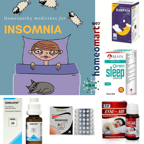 best homeopathy medicines for sleep, treats insomnia