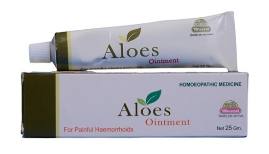 Wheezal Aloes Ointment for Painful Haemorrhoids