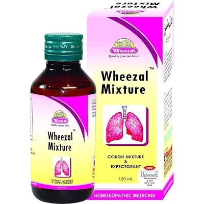 Wheezal Cough Mixture for All Types of Cough