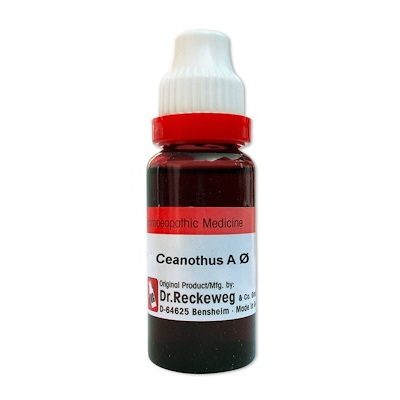 DR. Reckeweg Ceanothus Americanus Homeopathy Mother Tincture Q