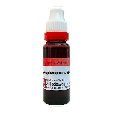 Dr. Reckeweg Aspidosperma Quebracho Homeopathy Mother Tincture Q - Copy