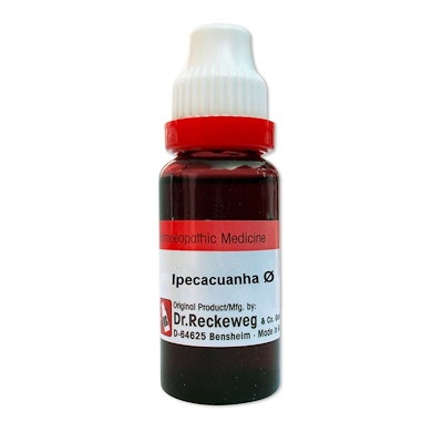 Dr. Reckeweg Ipecacuanha Homeopathy Mother Tincture Q