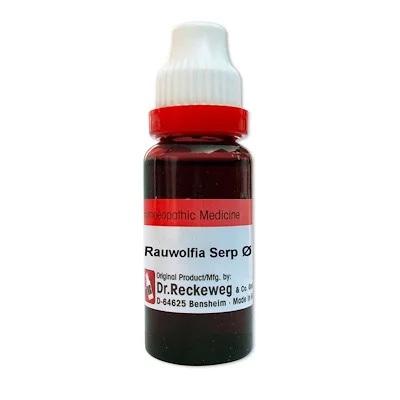 Dr. Reckeweg Rauwolfia Serpentina Homeopathy Mother Tincture Q