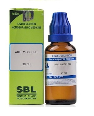 SBL Abel Moschus Homeopathy Dilution 6C, 30C, 200C, 1M, 10M, CM