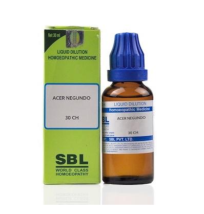 SBL Acer Negundo Homeopathy Dilution 6C, 30C, 200C, 1M, 10M, CM