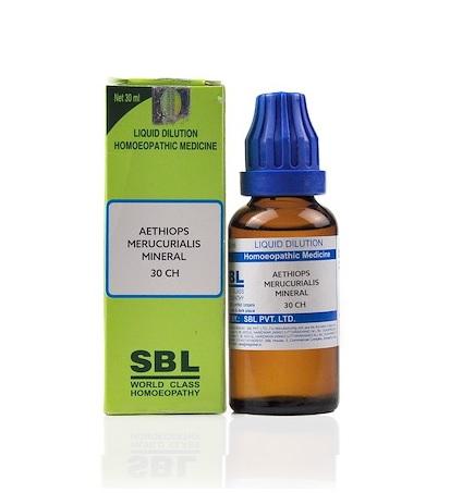 SBL Aethiops Mercurialis Mineralis Dilution 6C, 30C, 200C, 1M, 10M, CM
