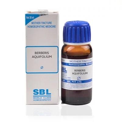 SBL Berberis Aquifolium Homeopathy Mother Tincture Q
