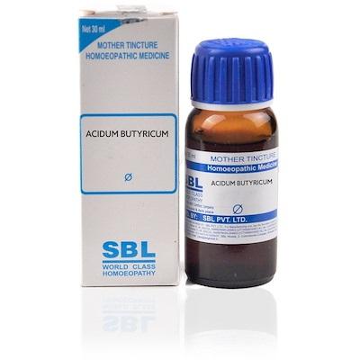 Sbl Acidum Butyricum Homeopathy Mother Tincture Q