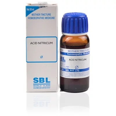 Sbl Acidum Nitricum Homeopathy Mother Tincture Q