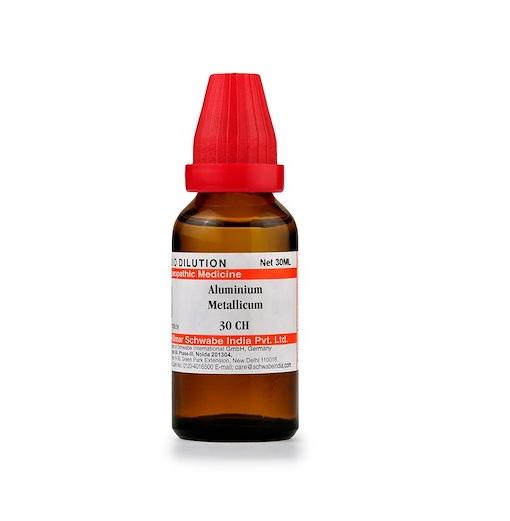 Schwabe Aluminium Metallicum Homeopathy Dilution 6C, 30C, 200C, 1M, 10M