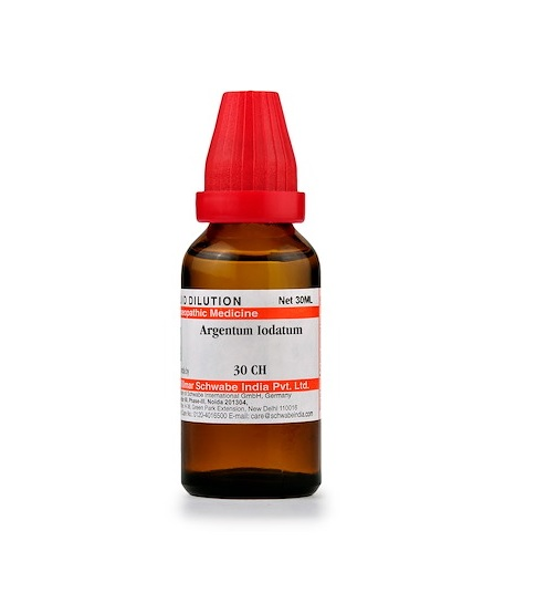 Schwabe Argentum Iodatum Homeopathy Dilution 6C, 30C, 200C, 1M, 10M, CM