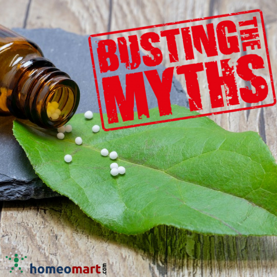Common myths and facts about homeopathy