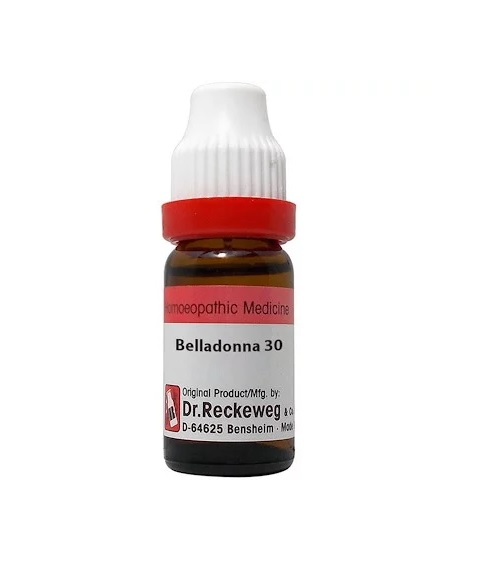 Dr Reckeweg Germany Belladonna Homeopathy Dilution 6C, 30C, 200C, 1M, 10M, CM