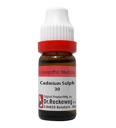 Dr Reckeweg Germany Cadmium Sulphuricum Homeopathy Dilution 6C, 30C, 200C, 1M, 10M